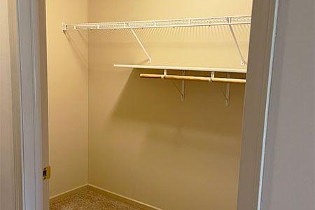 Nice-sized Walk-In Closet